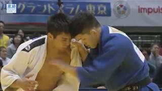 柔道グランドスラム東京 男子73kg級 2回戦 リスマンベトフvs大野 将平