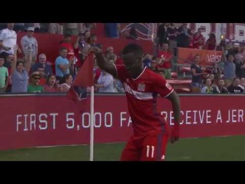 Catching up with the Chicago Fire's electric David Accam