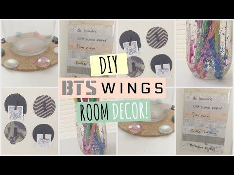 DIY BTS Room Decor