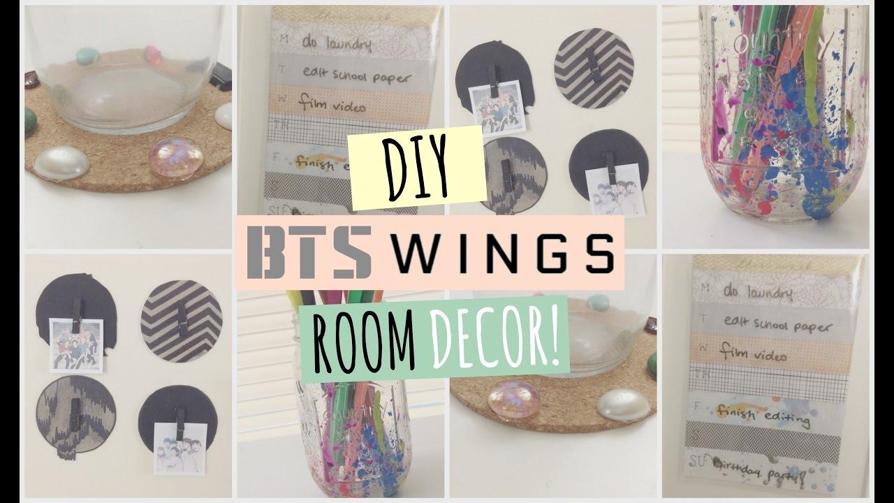 Diy Bts Wings Room Decor ™� Youtube