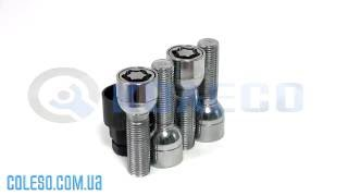 Секретки Болты 684157EM сфера14x1,5x40mm Обзор.(review)
