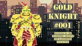 Gold Knight vs. Plague Rat! | Sentinels Of The Multiverse | Mutants And Masterminds Actual Play