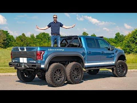 THIS $365,000 6x6 HENNESSEY VELOCIRAPTOR IS ABSOLUTELY EPIC!
