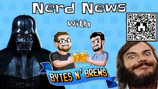 Shards of the Jack Black Mirror - Nerd News With Bytes N Brews!