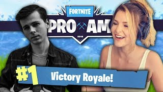 PRO-AM TOURNAMENT PRACTICE W/ CHANDLER RIGGS (Fortnite: Battle Royale) | KittyPlays