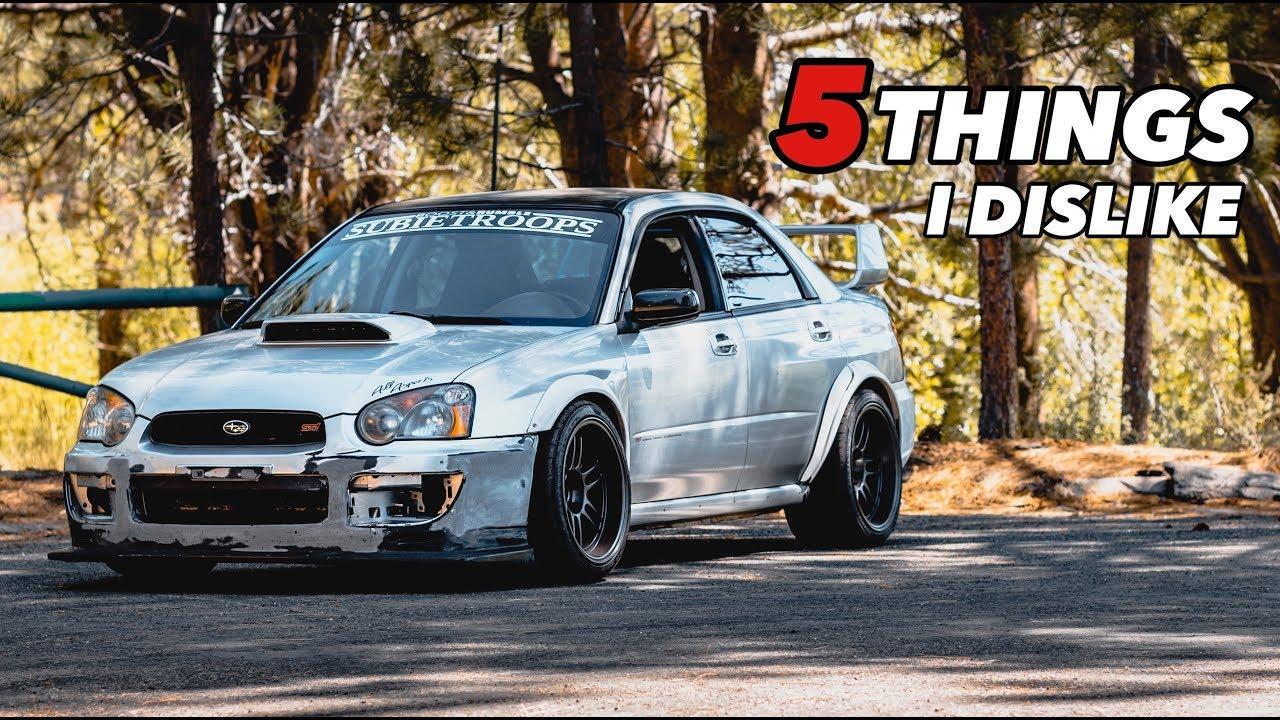 5 Things I Dislike About My Subaru STI