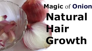 How Onion Helps to Improve Hair Growth