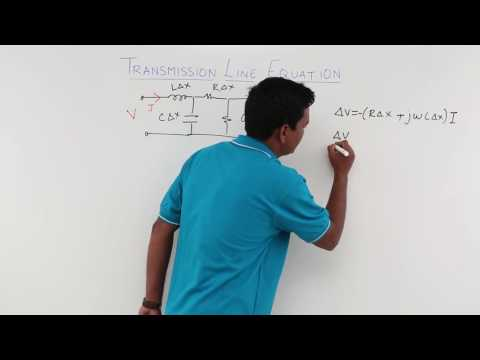 Transmission Line Equation Part 1