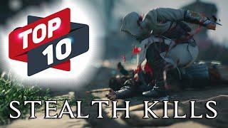 Assassin's Creed TOP 10 Steąlth Kills   Compilation #1