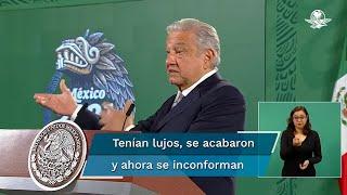 El presidente López Obrador criticó que ese grupo de científicos sólo se dedicaban a viajar al extranjero, a gastar en extravagancias, sin hacer nada por la ciencia y ahora se sienten perseguidos