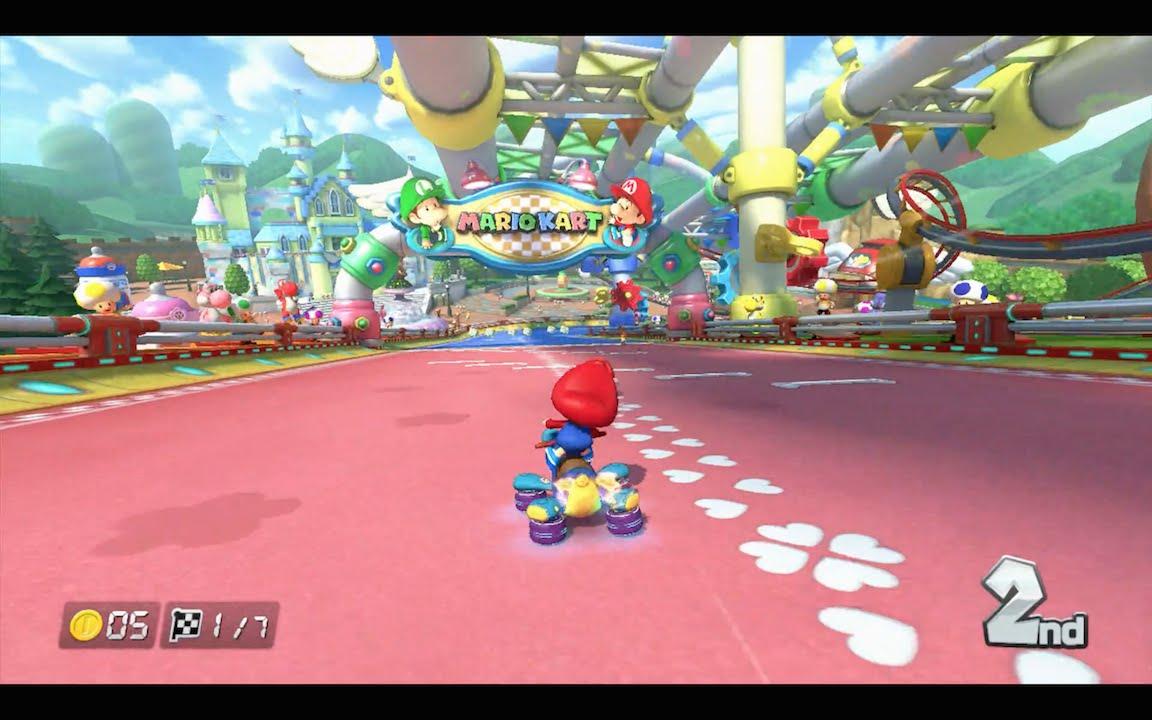 Baby Mario Mario Kart 8: Mario Kart 8: GCN Baby Park [1080 HD]