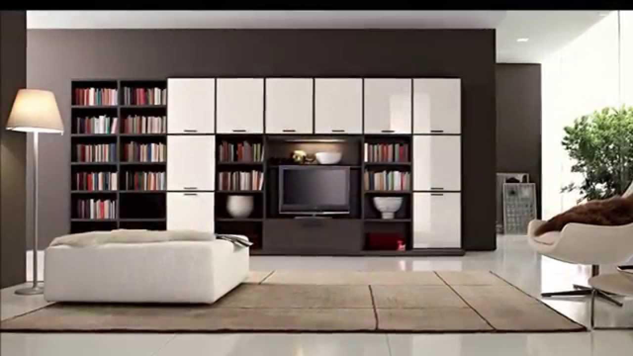 Kumpulan Desain Rak Buku Minimalis Terbaru - YouTube