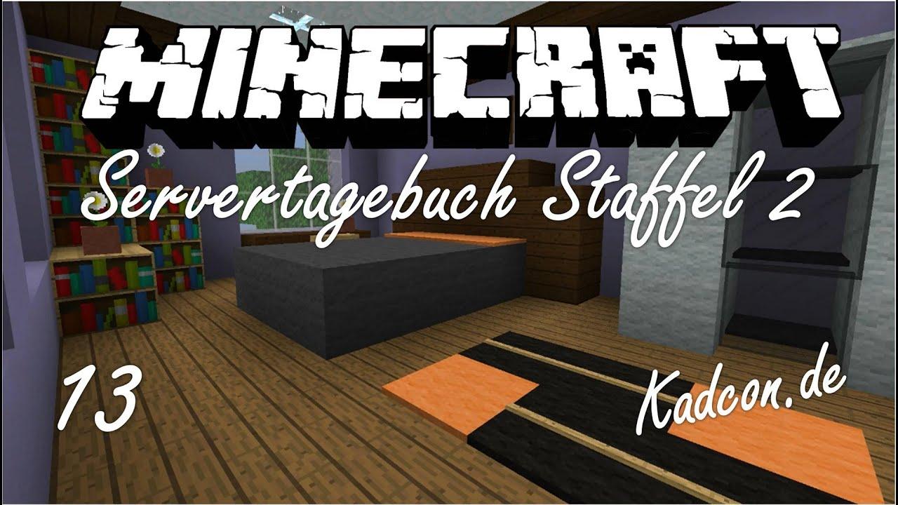 ServerTagebuch [13] Schlafzimmer Einrichten :D LiveBauen [HD+] Minecraft