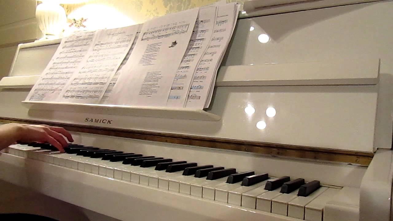 Sylvian joululaulu / Sylvia's Christmas Song (piano) - YouTube
