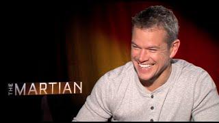 THE MARTIAN Interviews - Damon, Sir Ridley Scott, Chastain, Daniels, Glover, Bean, Caldwell Dyson