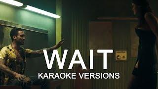 Maroon 5 - Wait (Karaoke Version No Vocal)