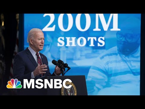 Biden's Approval Remains Strong At The 100-Day Mark | Morning Joe | MSNBC