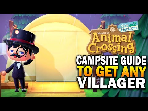 How The Campsite Works To Get Any Villager You Want In Animal Crossing New Horizons