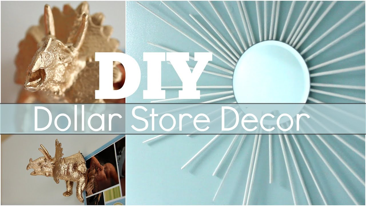 Diy Dollar Store Decor Youtube