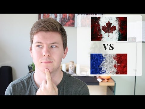 DIFFERENCES BETWEEN CANADIAN FRENCH AND FRANCE FRENCH