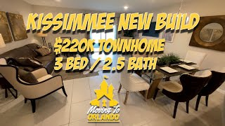 Kissimmee Townhome new-build | $220k | 3 bed - 2.5 bath