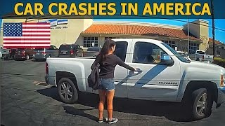 Car Crashes in America (USA) bad drivers, Road Rage 2017 # 3