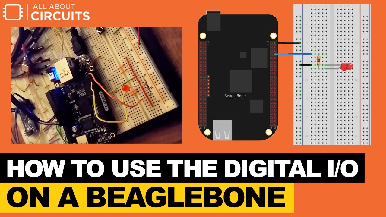 Learn How to Use the BeagleBone's Digital I/O
