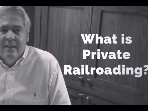What is Private Railroading? The Cincinnati Railway Company