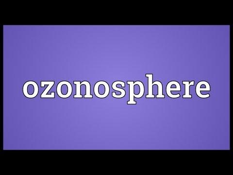 Header of ozonosphere