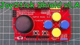 Джойстик шилд радиоуправления для Arduino
