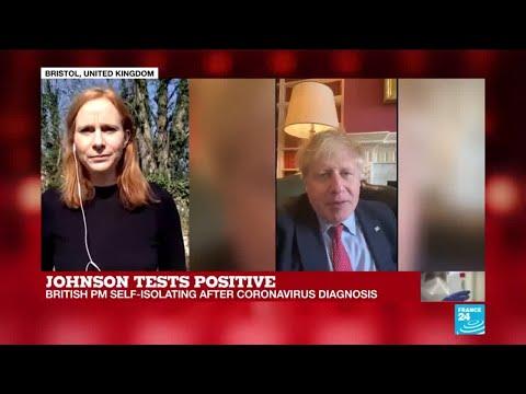 British PM Boris Johnson Tests Positive For Coronavirus, Is Self-isolating