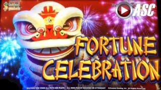 *NEW* FORTUNE CELEBRATION | Konami - Slot Machine Bonus (w. ShinobiYT, BeamMeUpSlotty, & Dianaevoni)