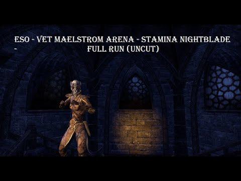 Maelstrom Arena (Vet) - Stamina Nightblade - Full Run