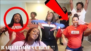 "BABYMOMMA CREW DOES "" IN MY FEELINGS"" AND ""LEVEL UP"" CHALLENGE"