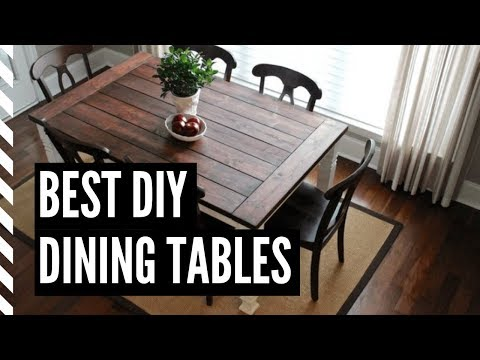 Best DIY Dining Tables You Can Build