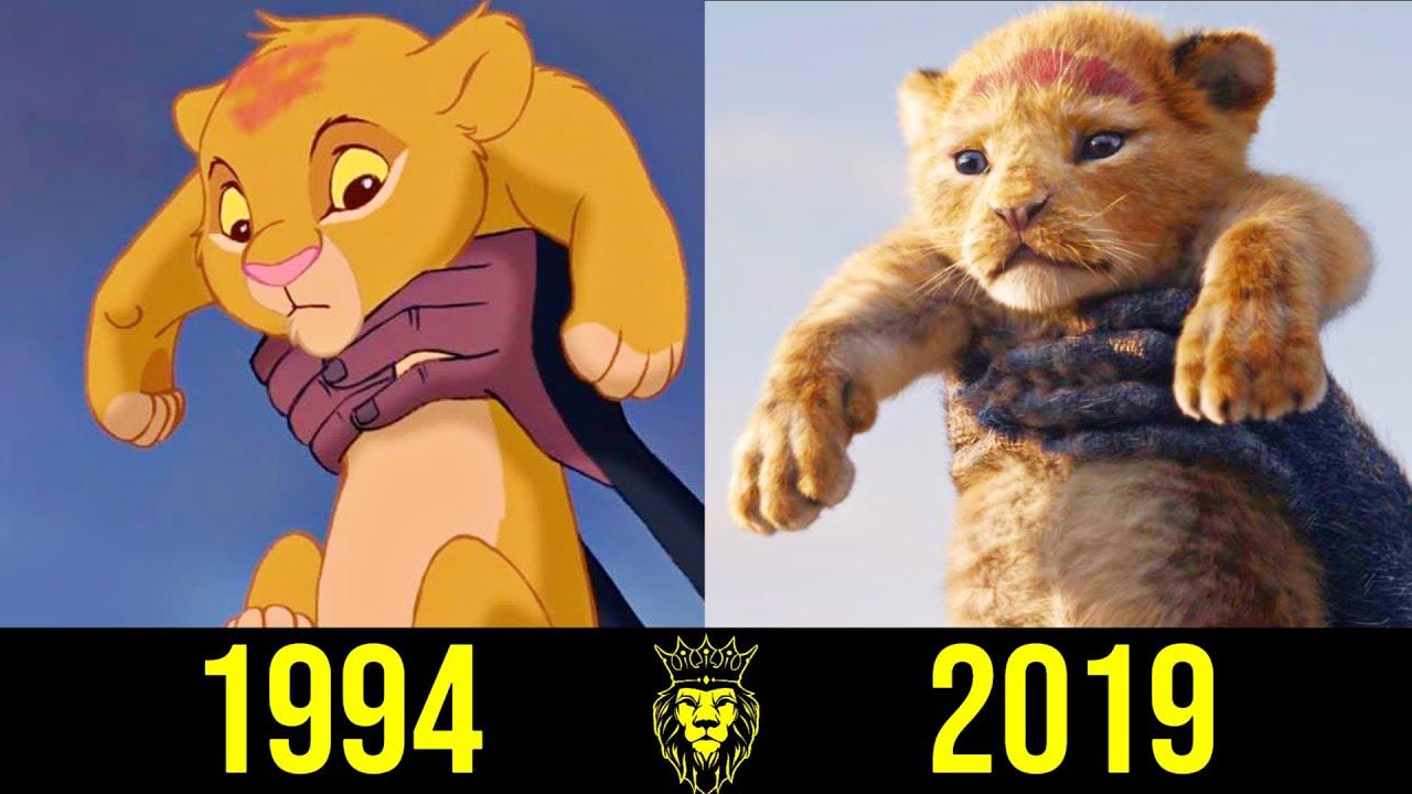 👑 Симба - Эволюция (1994 - 2019) ! Все Появления Короля Льва 👑!