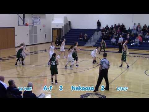 Nekoosa Girls vs. Adams Friendship 1-31-17