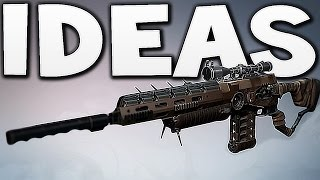 Destiny - SNIPER RIFLE IDEAS !!