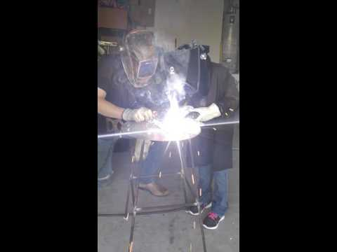 Dominica's first solo weld