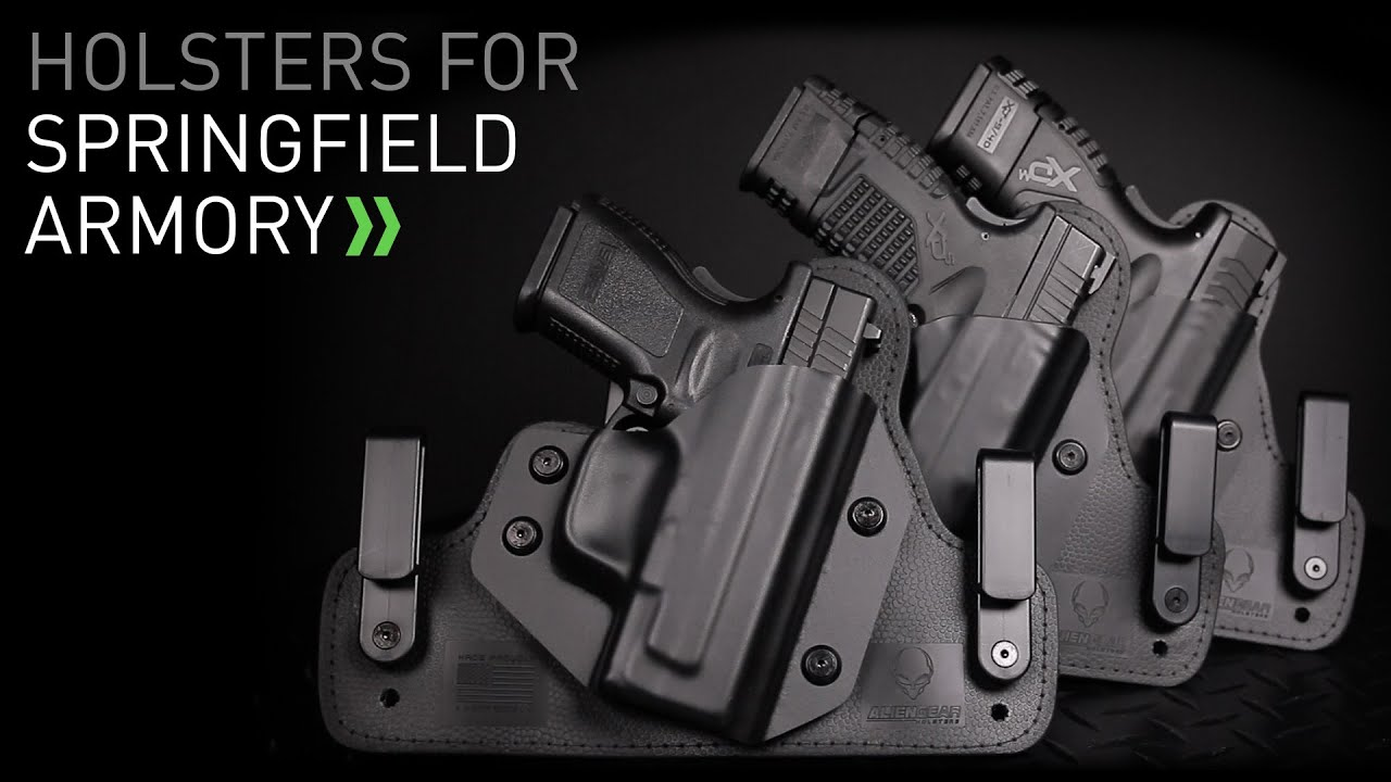 Springfield Holsters for Concealed Carry by Alien Gear Holsters