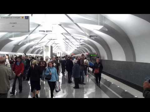 открытие метро в новокосино первый поезд