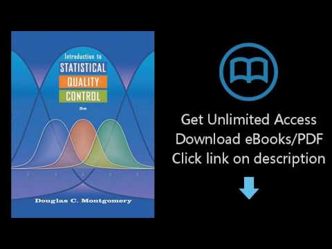 Introduction To Statistical Quality Control Montgomery Pdf