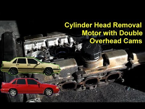 How to remove the cylinder head from a white block Volvo vehicle. – VOTD