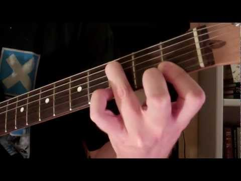How To Play the Fsus2 Chord On Guitar (Suspended Chord)