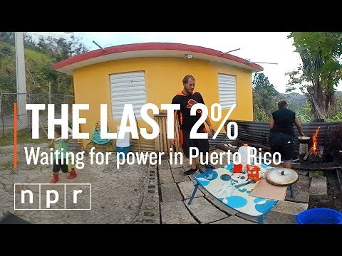 The Last 2% Of Puerto Ricans Are Still Waiting For Power (360°) | NPR