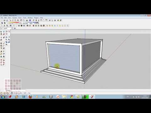 Google Sketchup-Tutorial 01- Perkenalan Interface 1- Membuat Rumah Joglo