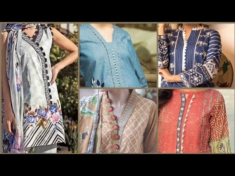 2020 Collection of Kurti Neck Designs/Neckline Designs/Churidar Neck Designs/Salwar Suit Neck Design