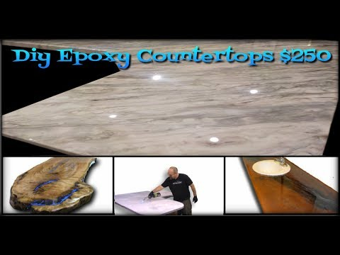 Epoxy Countertops What Will You Create Today Youtube