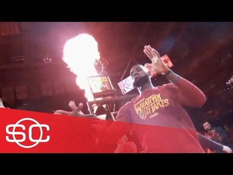 LeBron James looks to carry dominant, 46-point performance into Game 3 | SportsCenter | ESPN