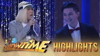 It's Showtime Miss Q and A: Vice Ganda scolds Dumbo for pulling Greg away